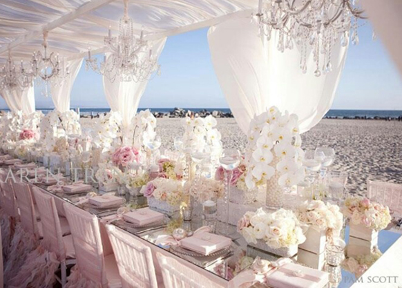 Blush Ivory Wedding Decoration