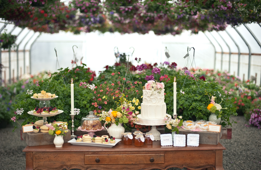 Indoor Or Outdoor Wedding Ceremony Some Facts To Help You: Greenhouse Wedding