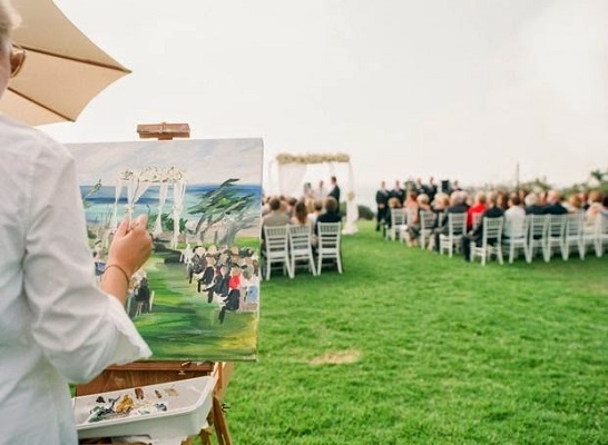 Wedding Event Painting | A2zWeddingCards