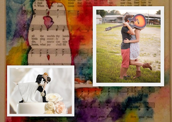Rock your Big Day with these Musical Theme Wedding Ideas - Couple Portraits