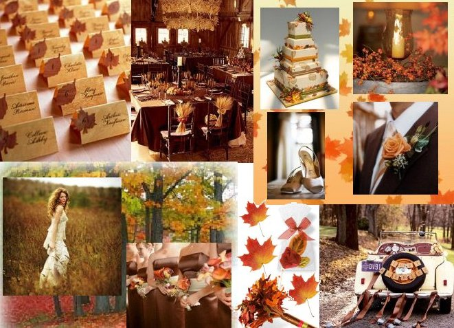 Autumn Wedding Theme A2zWeddingCards