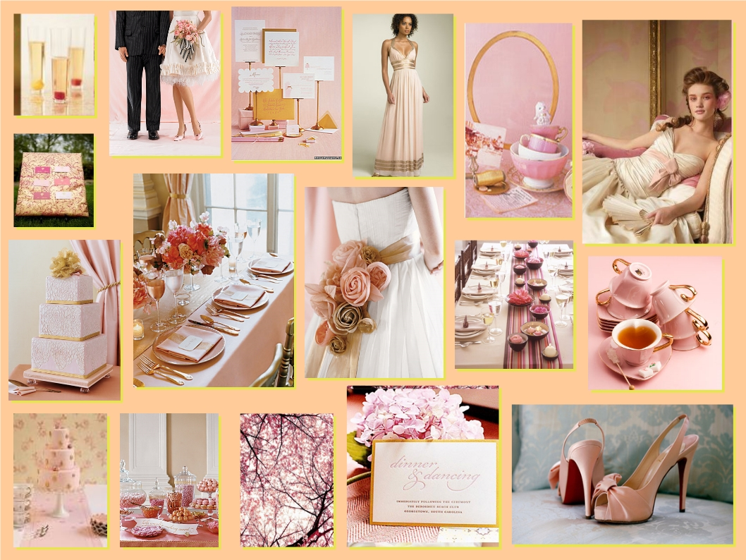 Blush Ivory Wedding Ideas