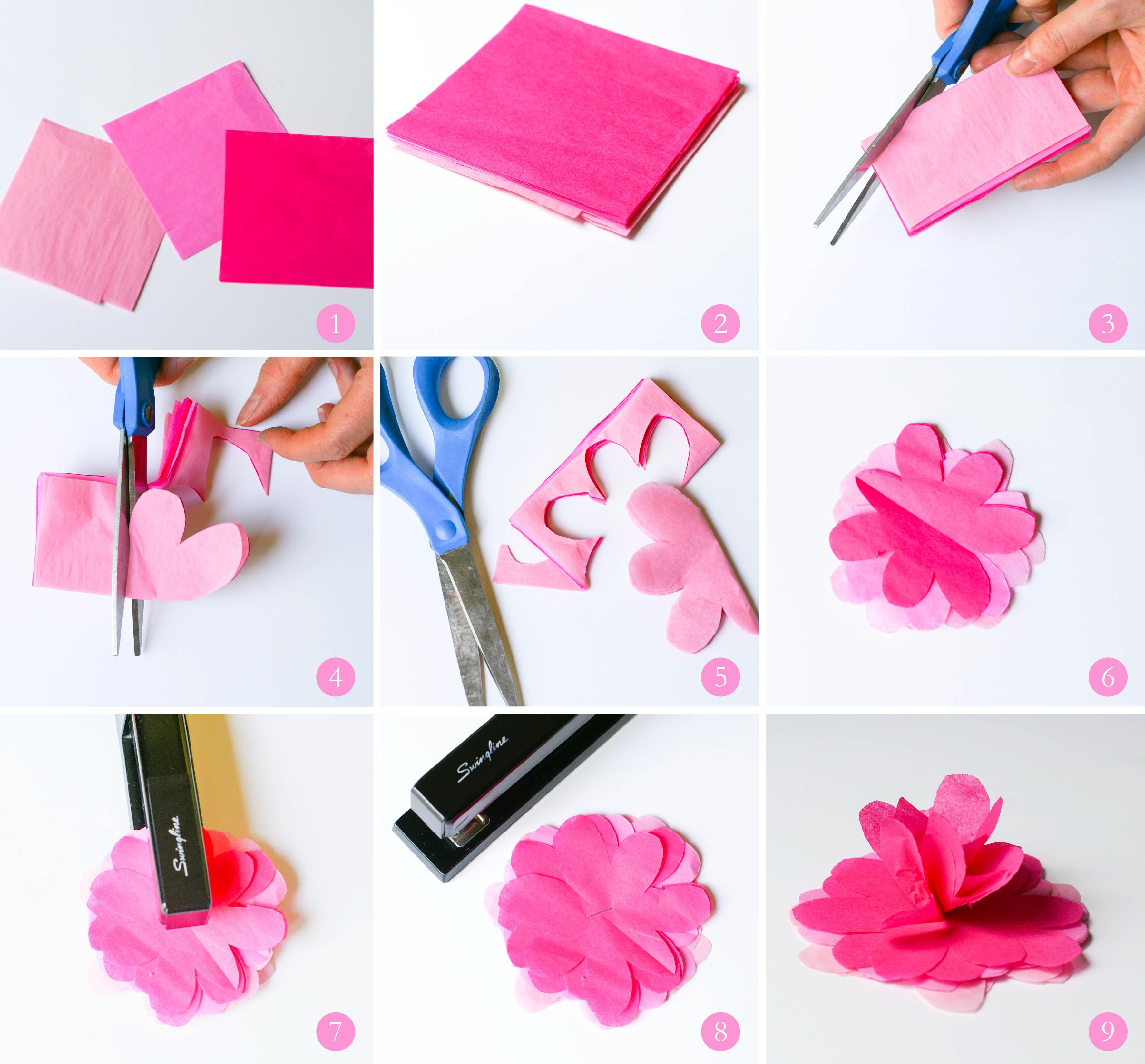Paper Cut Flowers Pattern Step By Step Flowers Healthy