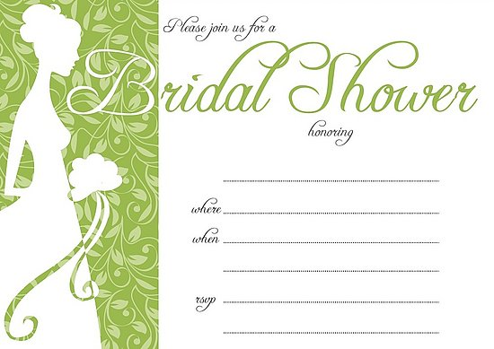 Bridal Shower Wedding Invitations | Bridal Shower ...