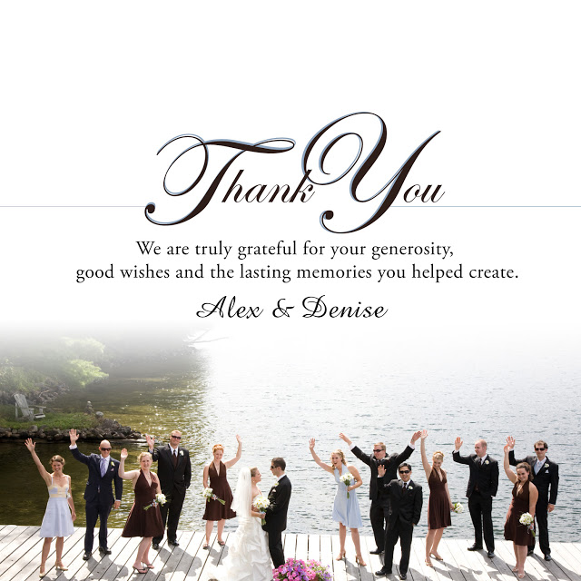 17 best images about thank you notes on pinterest wedding thank – What to Write in Thank You Cards Wedding