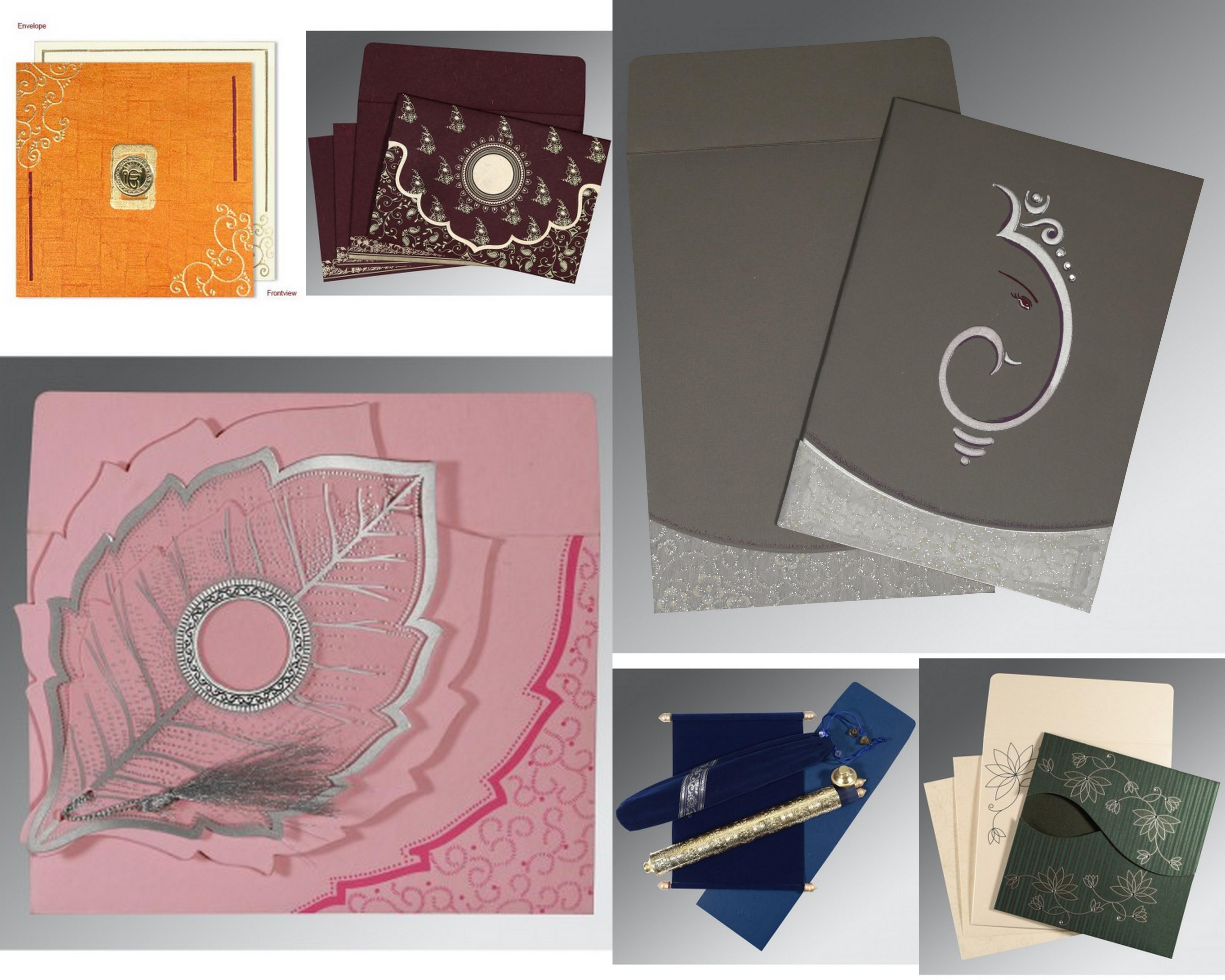 Wedding Cards Ideas | Wedding Invitations | A2zWeddingCards