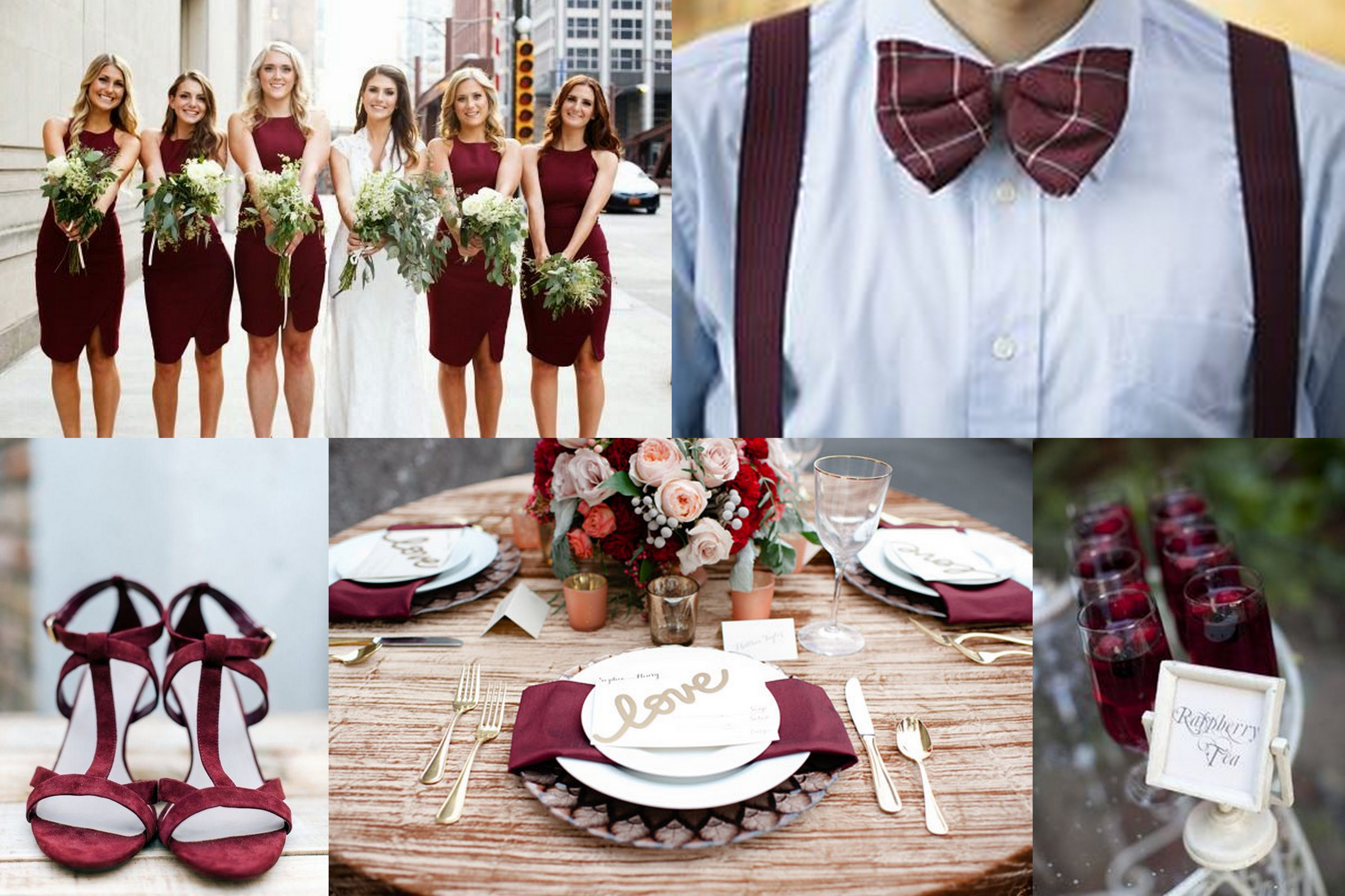 wedding ideas colors and themes marsala pantone color of year 2015 wedding ideas 27976