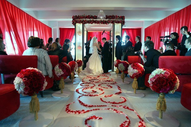 Valentines Day Themed Wedding