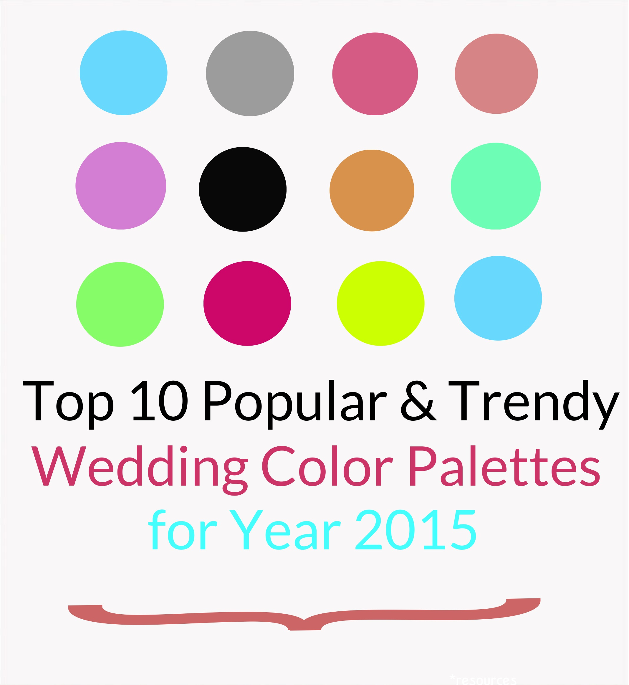 Wedding Color Trends 2015 | Wedding Invitations | A2zWeddingCards