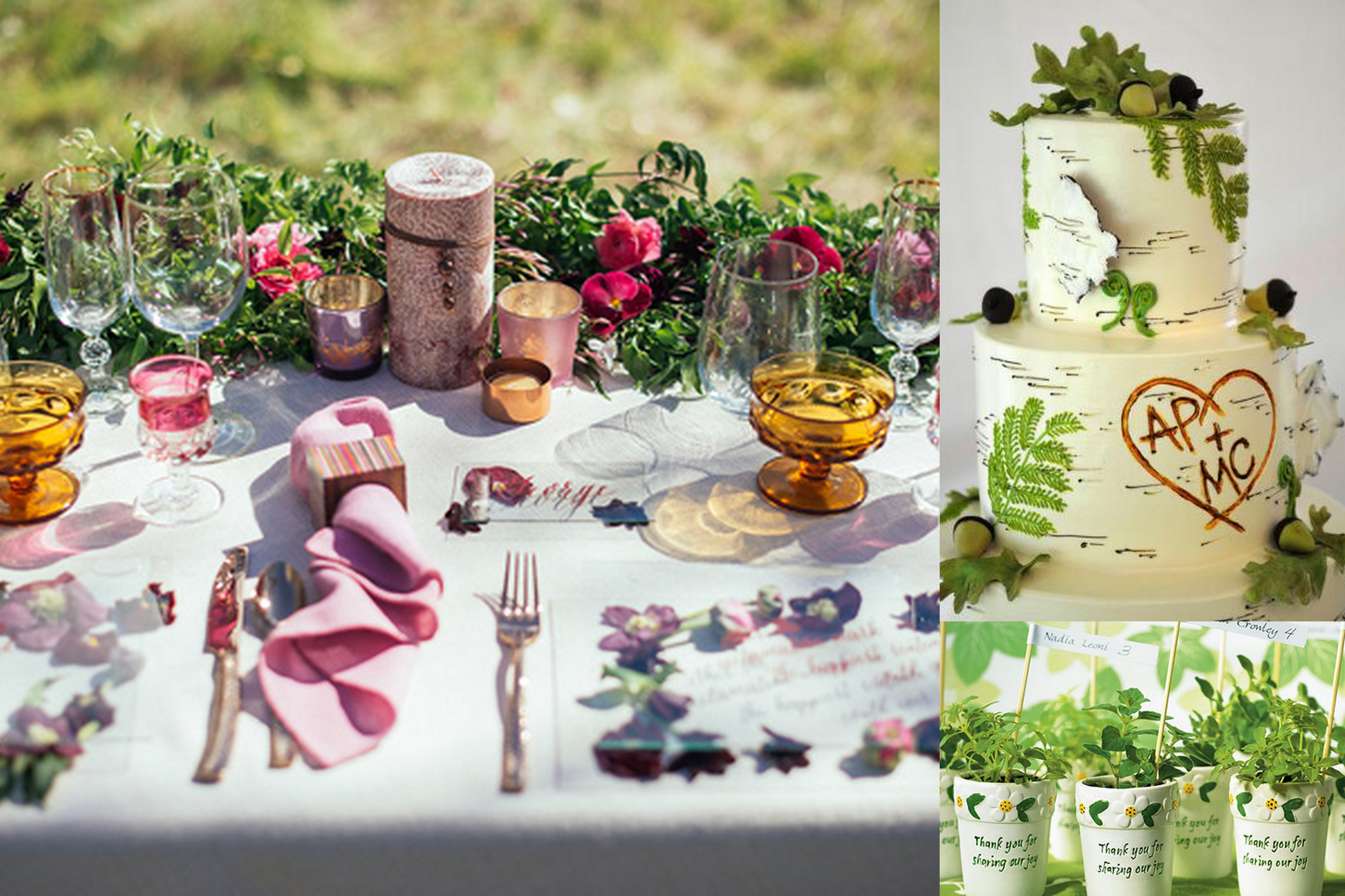 Save Eco Friendly Wedding Food And Favors