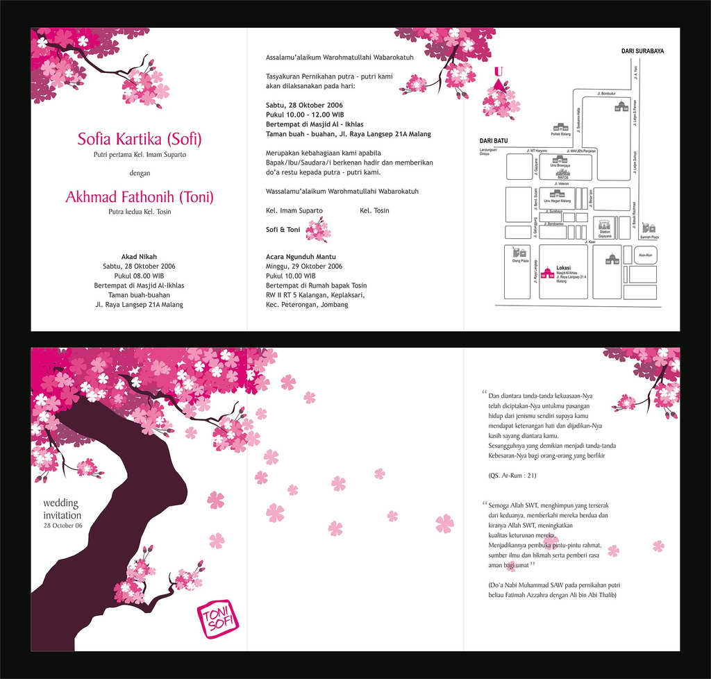 Samples Of Wedding Invites: Wedding Invitation Suite