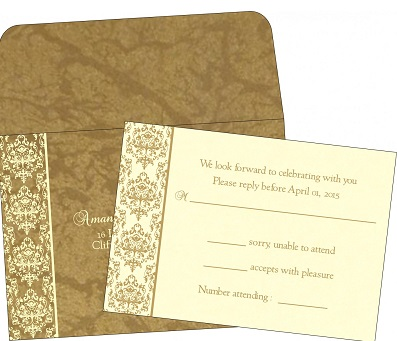 Rsvp Cards | A2zWeddingCards