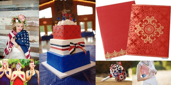 4th july Wedding inspiration