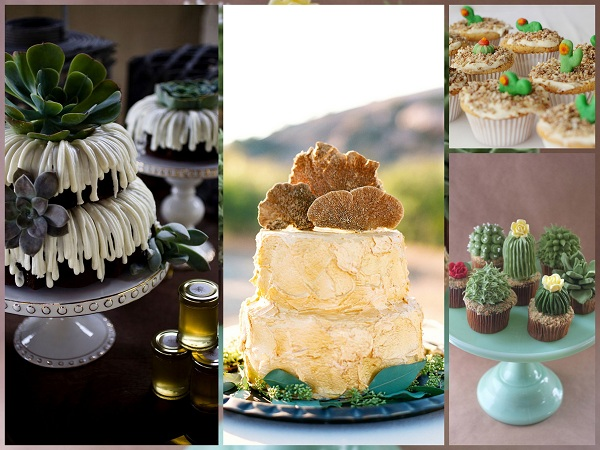 Desert Wedding Cake - A2zWeddingCards