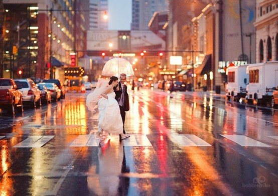 Rainy Day Wedding A2zWeddingCards