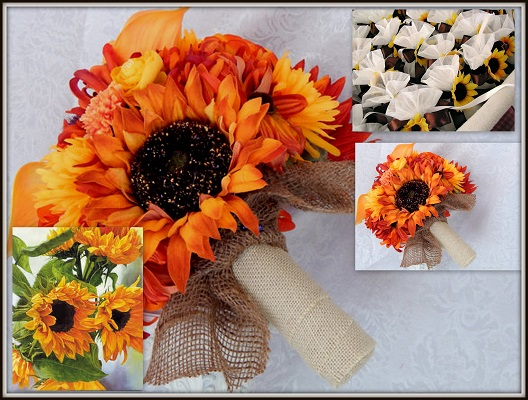 Sunflower Wedding Favors - A2zWeddingCards