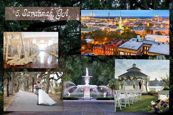 Cheapest Wedding Locations-  Savannah GA - A2zWeddingCardsEdited