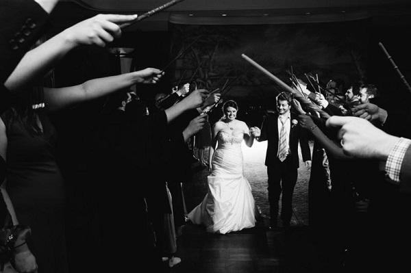 Magical Harry Potter Theme Wedding