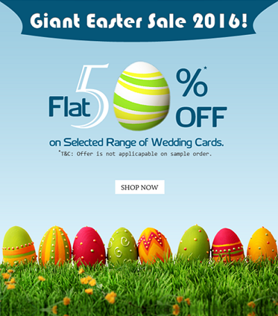 Easter-Sale 2016 - A2zWeddingCards