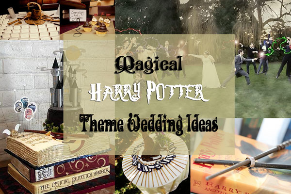 Magical Harry Potter Theme Wedding Wedding Ideas A2zweddingcards