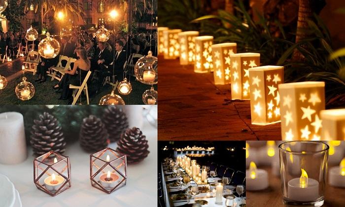 Candle Centerpieces - A2zWeddingCards