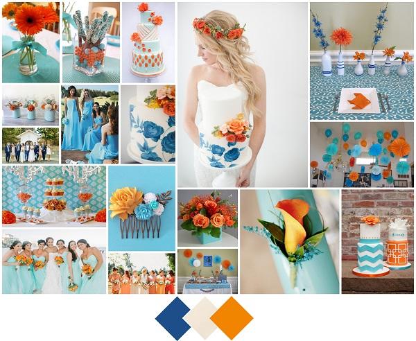 Classic Blue, Tangerine, Sugar-A2zWeddingCards