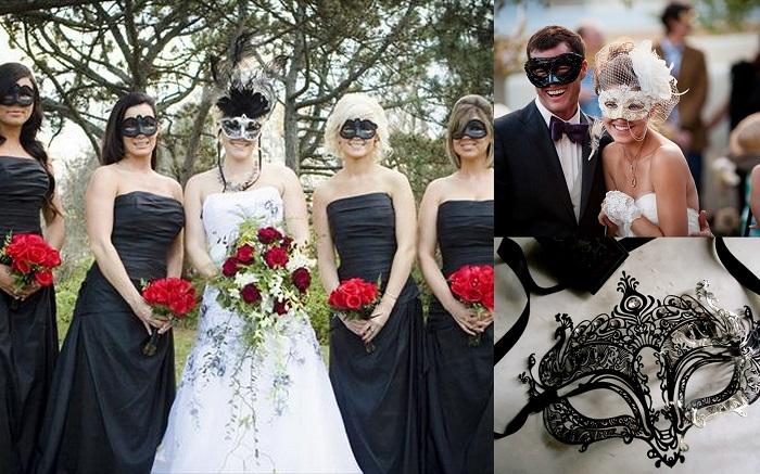 Dramatic U0026 Fun Masquerade Ball Themed Wedding Ideas   1   A2zWeddingCards
