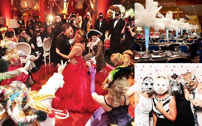 Dramatic Fun Masquerade Ball Themed Wedding Ideas 2 A2zweddingcards