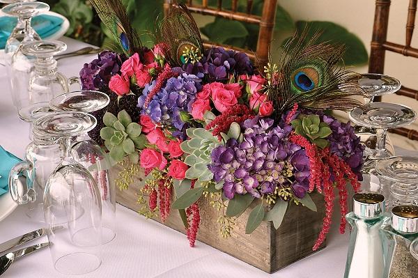 Mixed Flowers - A2zWeddingCards