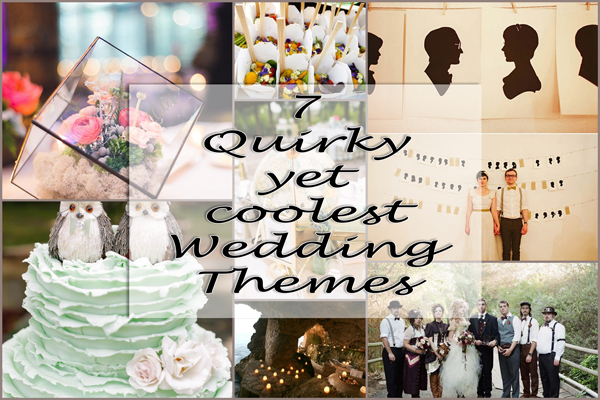 7 quirky yet coolest wedding themes a2zweddingcards junglespirit Images