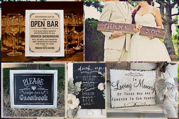Trending Wedding SignBoards - A2zWeddingCards
