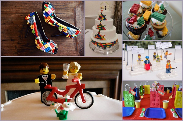 Lego Themed wedding - A2zWeddingCards