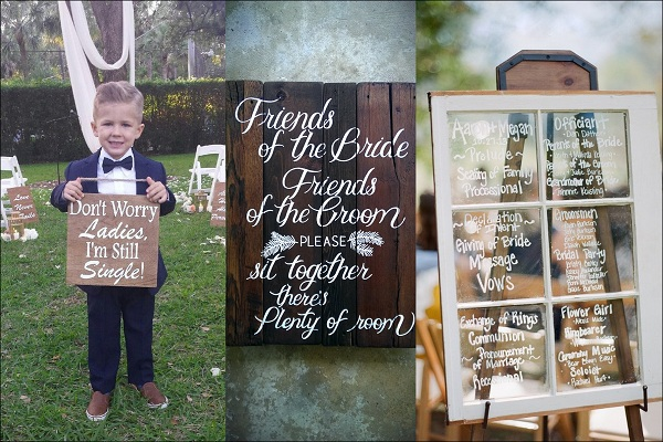 Unique Wedding Signboards - A2zWeddingCards