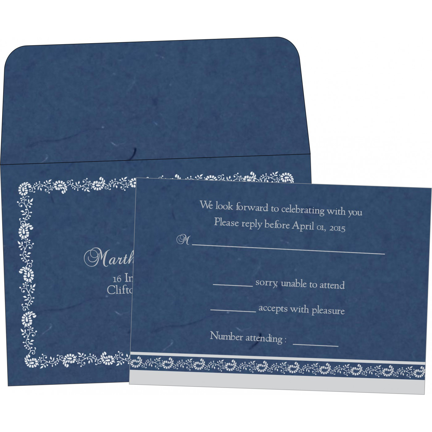 RSVP Cards - A2zWeddingCards