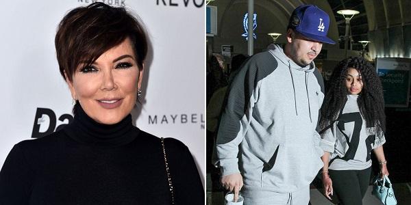 Kris Jenner - Rob Kardashian - Blac Chyna