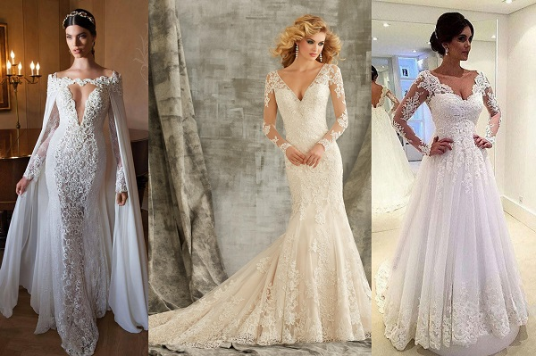 Lace and net work trends - AzWeddingCards