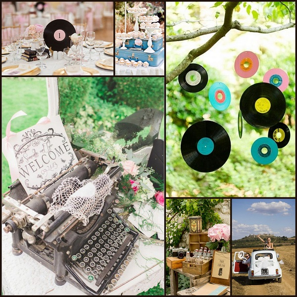 Retro Theme wedding ideas -A2zWeddingCards