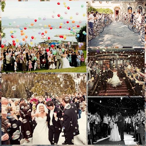 Grand Exit - Wedding Trends 2017 - A2zWeddingCards