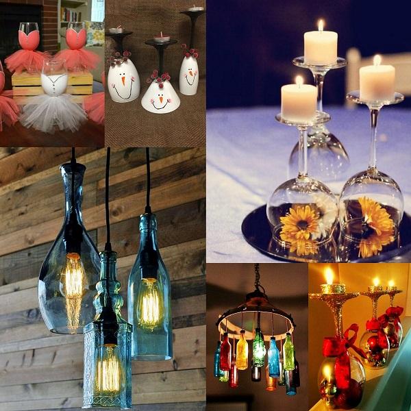 Wine Glasses crafts - Wedding Gifts - A2zWeddingCards