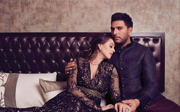 Yuvraj Singh Hazel Keech Wedding10