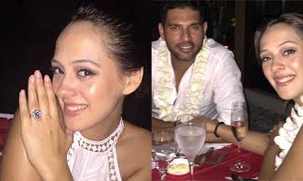 Yuvraj Singh Hazel Keech Wedding6