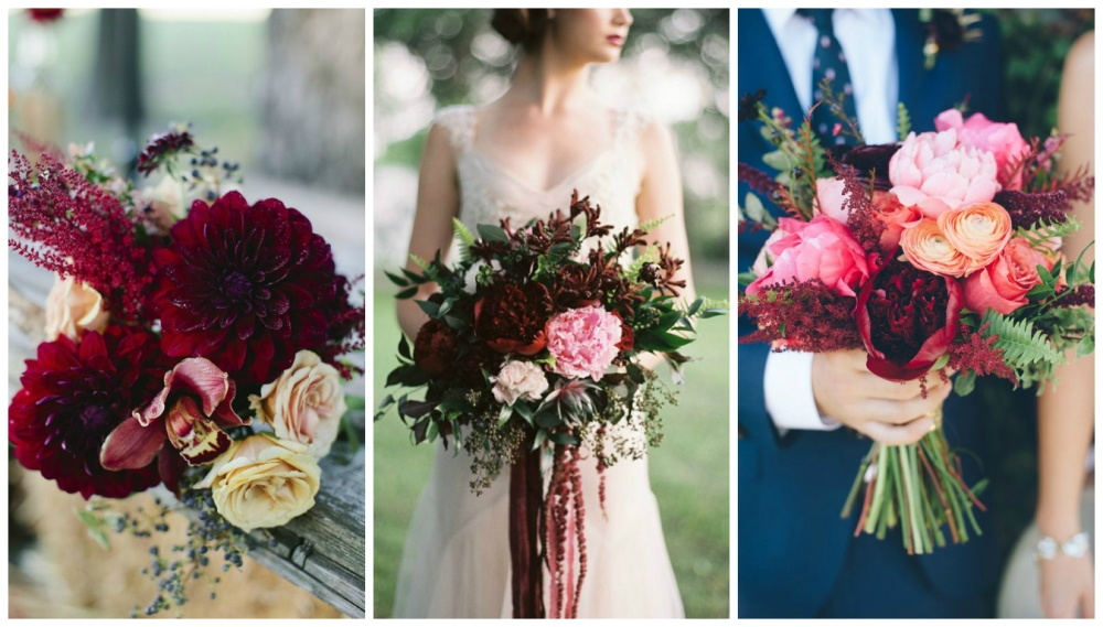 Pantone Bridal  Bouquet