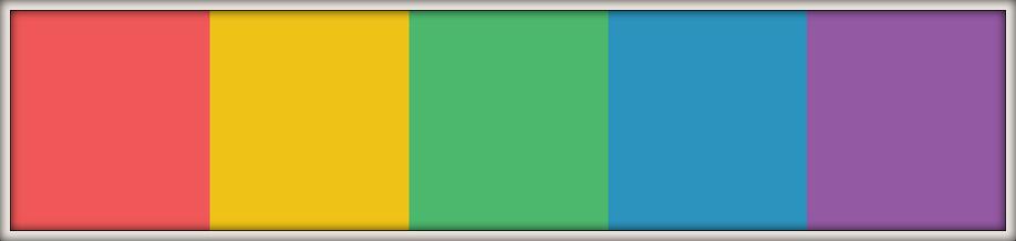 Multicolor - Wedding Colour Schemes