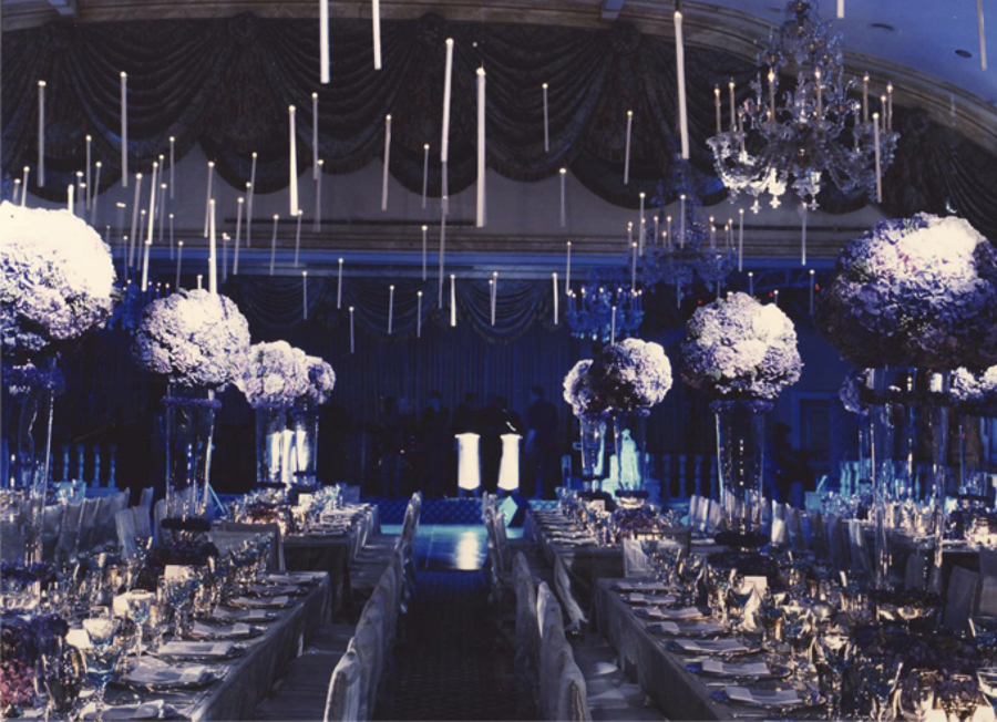 Floating Candles - Harry Potter Themed Wedding