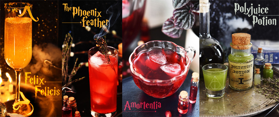 Harry Potter theme wedding cocktails