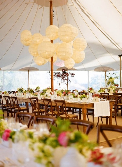 Faux  Wedding Tent Ideas- A2z Wedding Cards