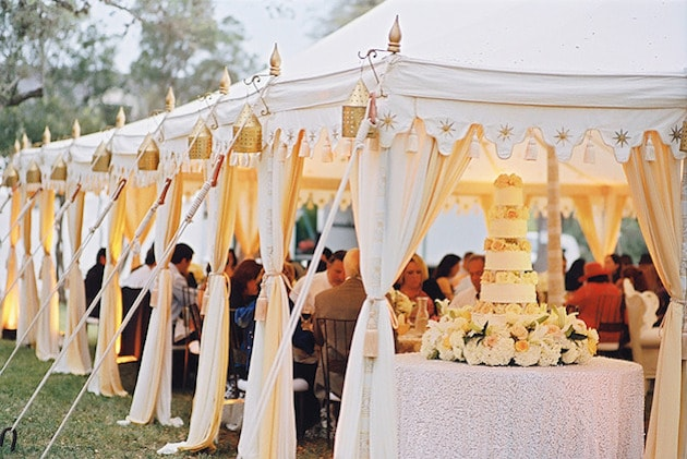Group of tents for outdoor Wedding - A2z Wedding Cards