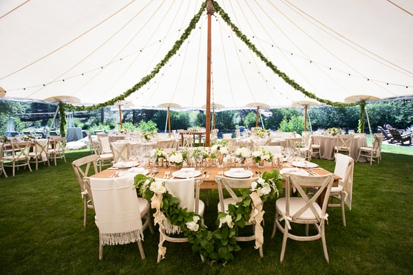 Minimalistic charm tent for wedding- A2z Wedding Cards
