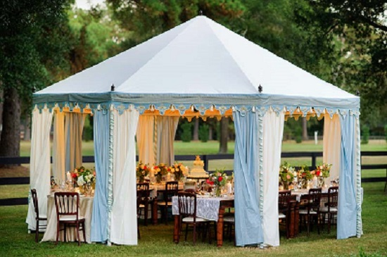 Plastic Wedding  Tent Ideas- A2z Wedding Cards