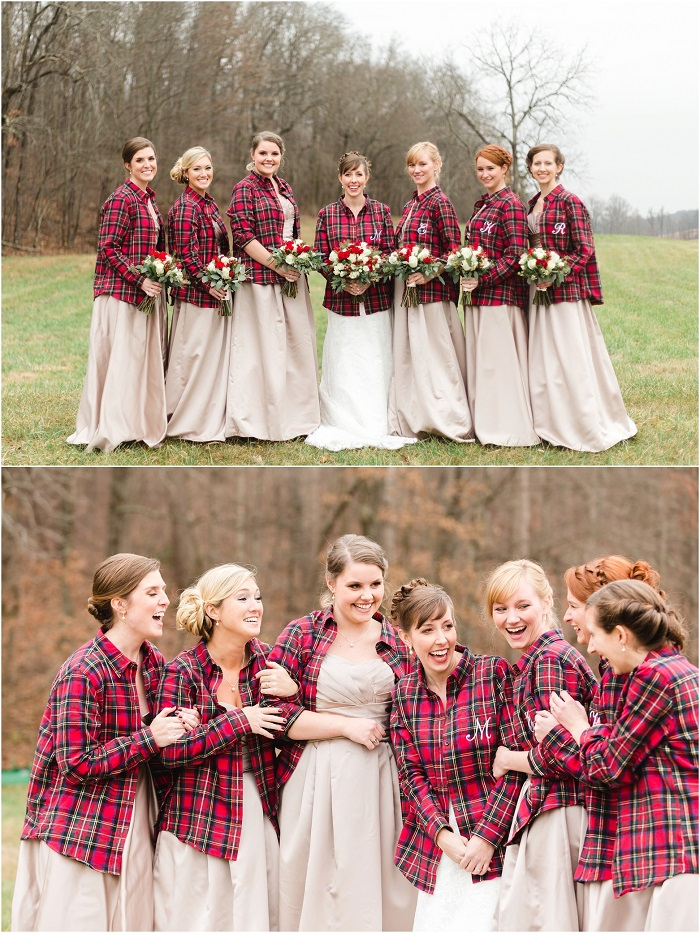 flannels for bridesmaid Dress